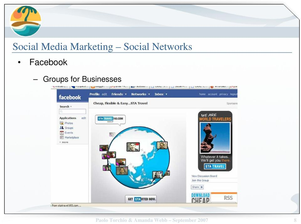 Groups for Businesses Paolo
