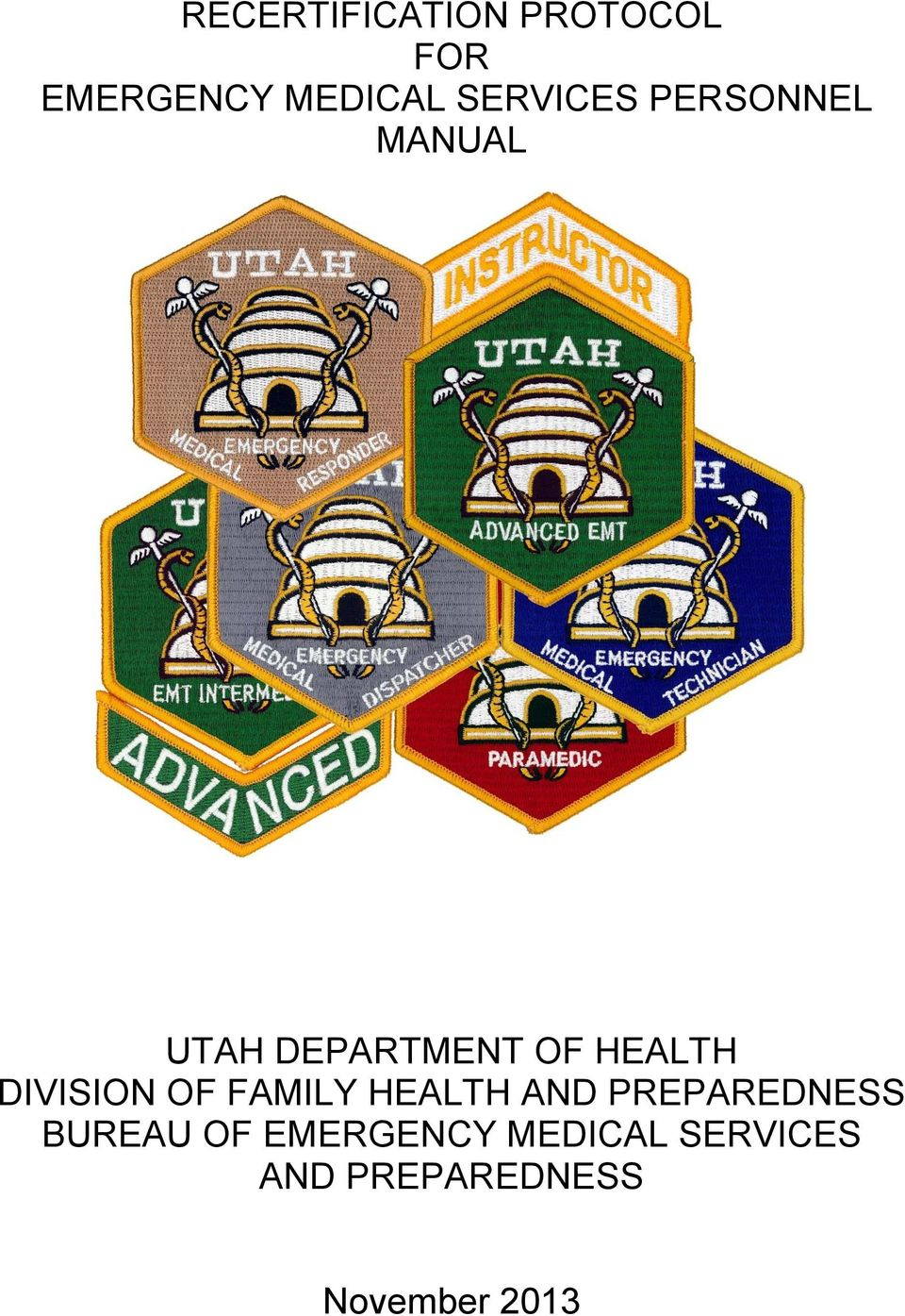 DIVISION OF FAMILY HEALTH AND PREPAREDNESS BUREAU OF