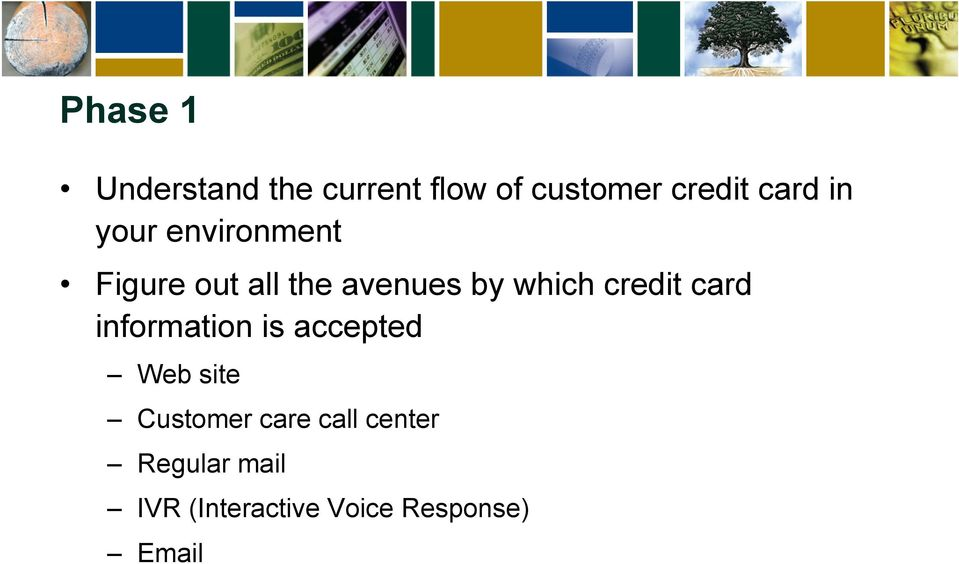 credit card information is accepted Web site Customer care