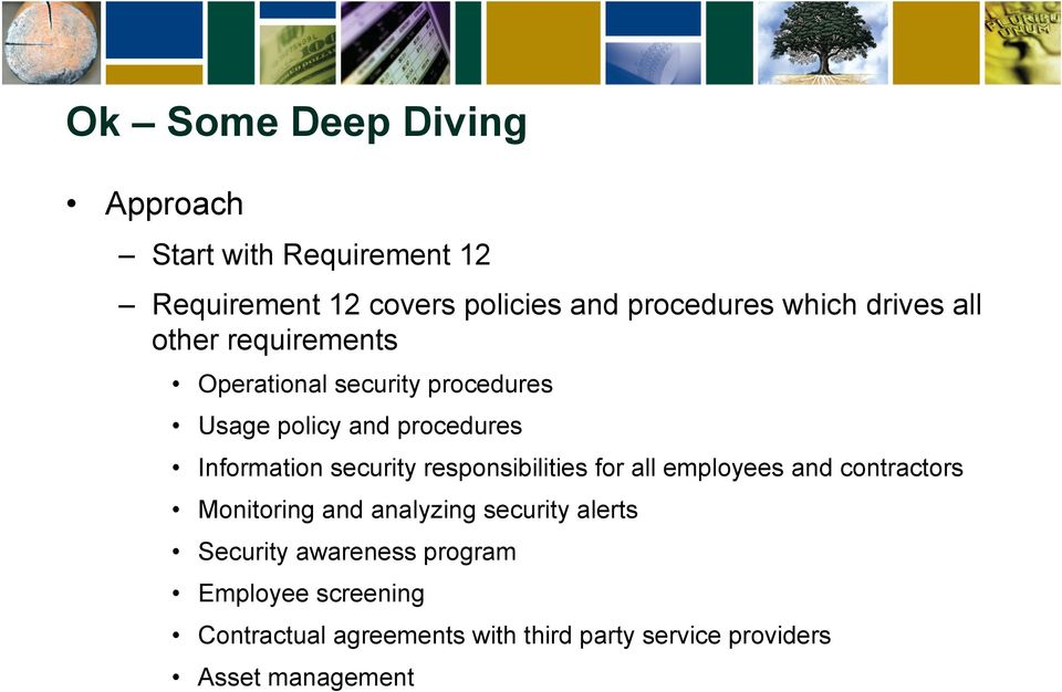 security responsibilities for all employees and contractors Monitoring and analyzing security alerts