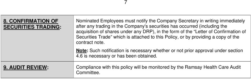 which is attached to this Policy, or by providing a copy of the contract note.