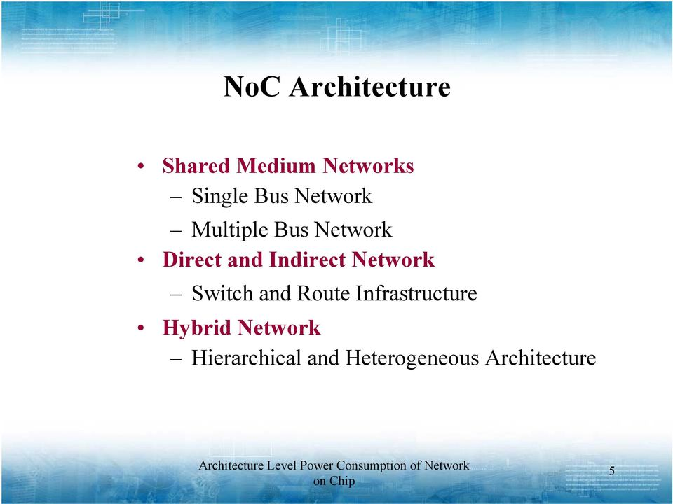 Indirect Network Switch and Route Infrastructure