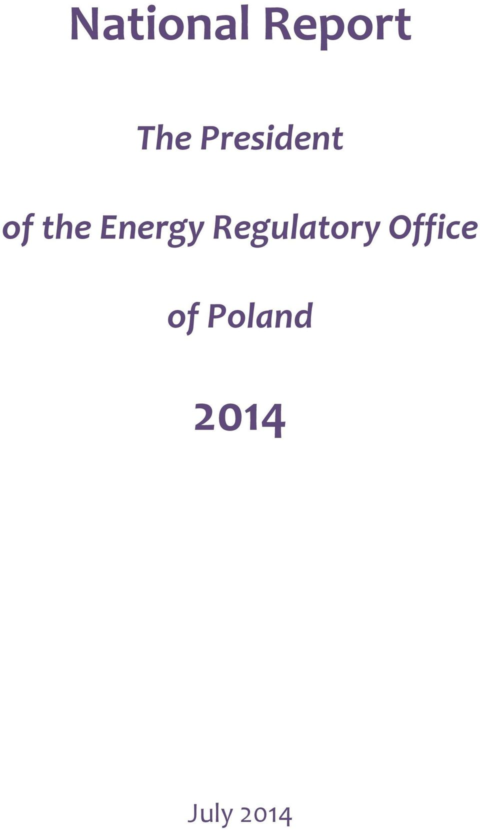 Energy Regulatory