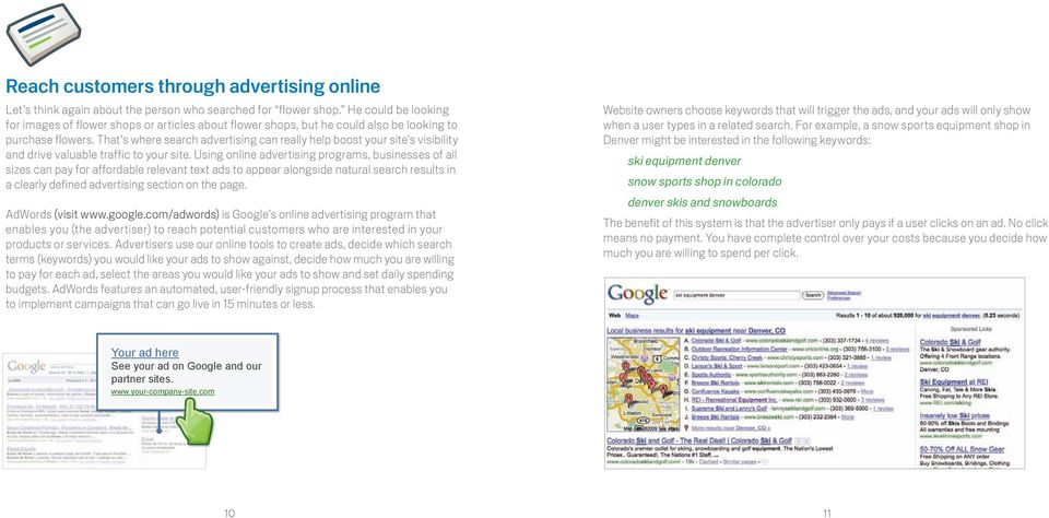 That s where search advertising can really help boost your site s visibility and drive valuable traffic to your site.