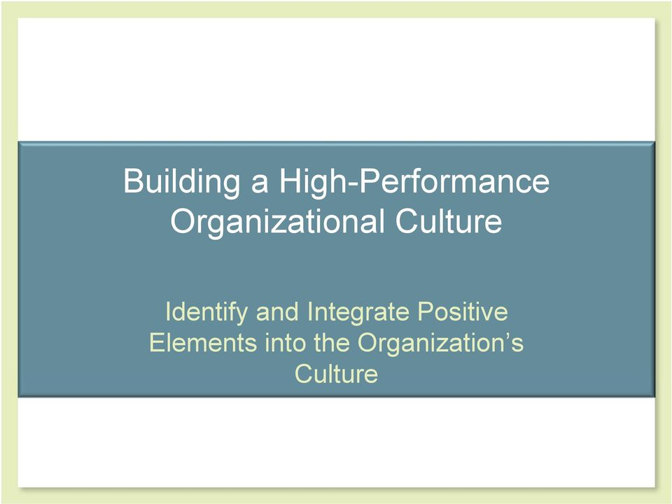 organizational culture at chrysler Read this essay on organizational change of the chrysler corporation in the 1978 bailout and lee iacocca come browse our large.