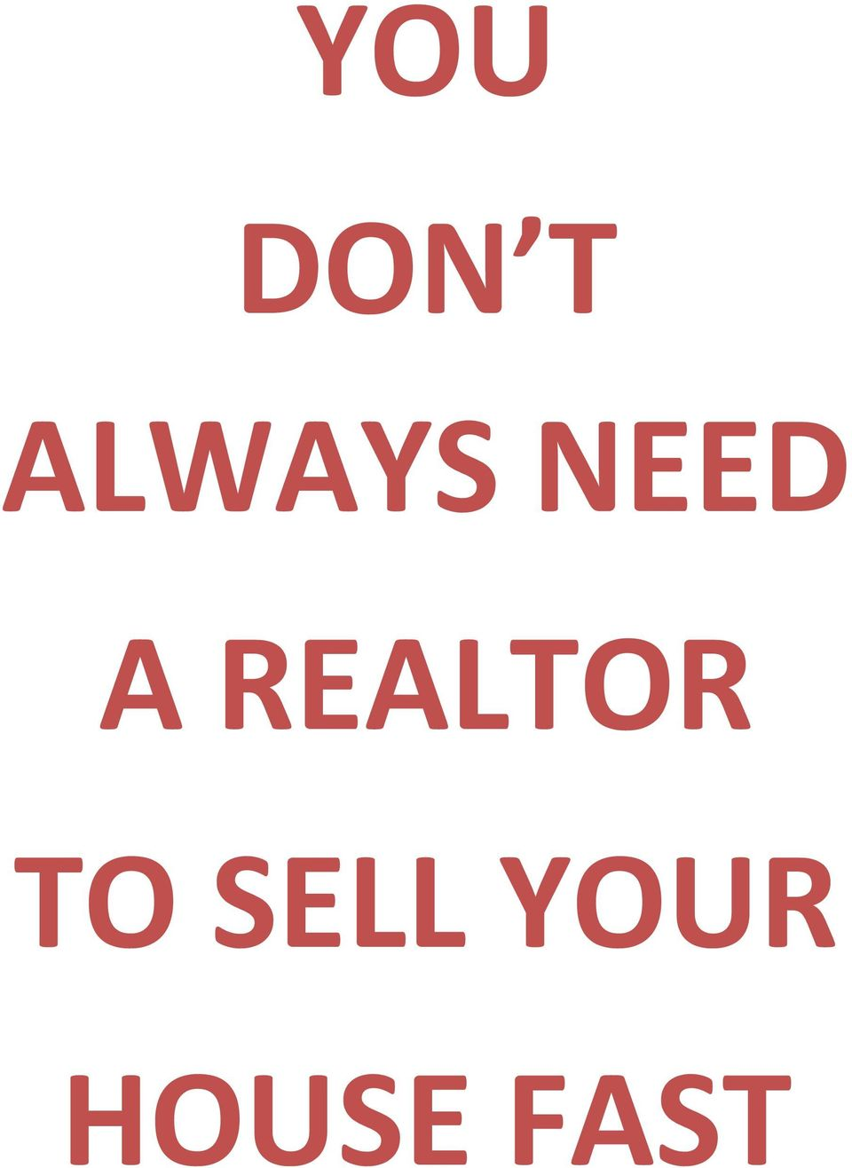 REALTOR TO