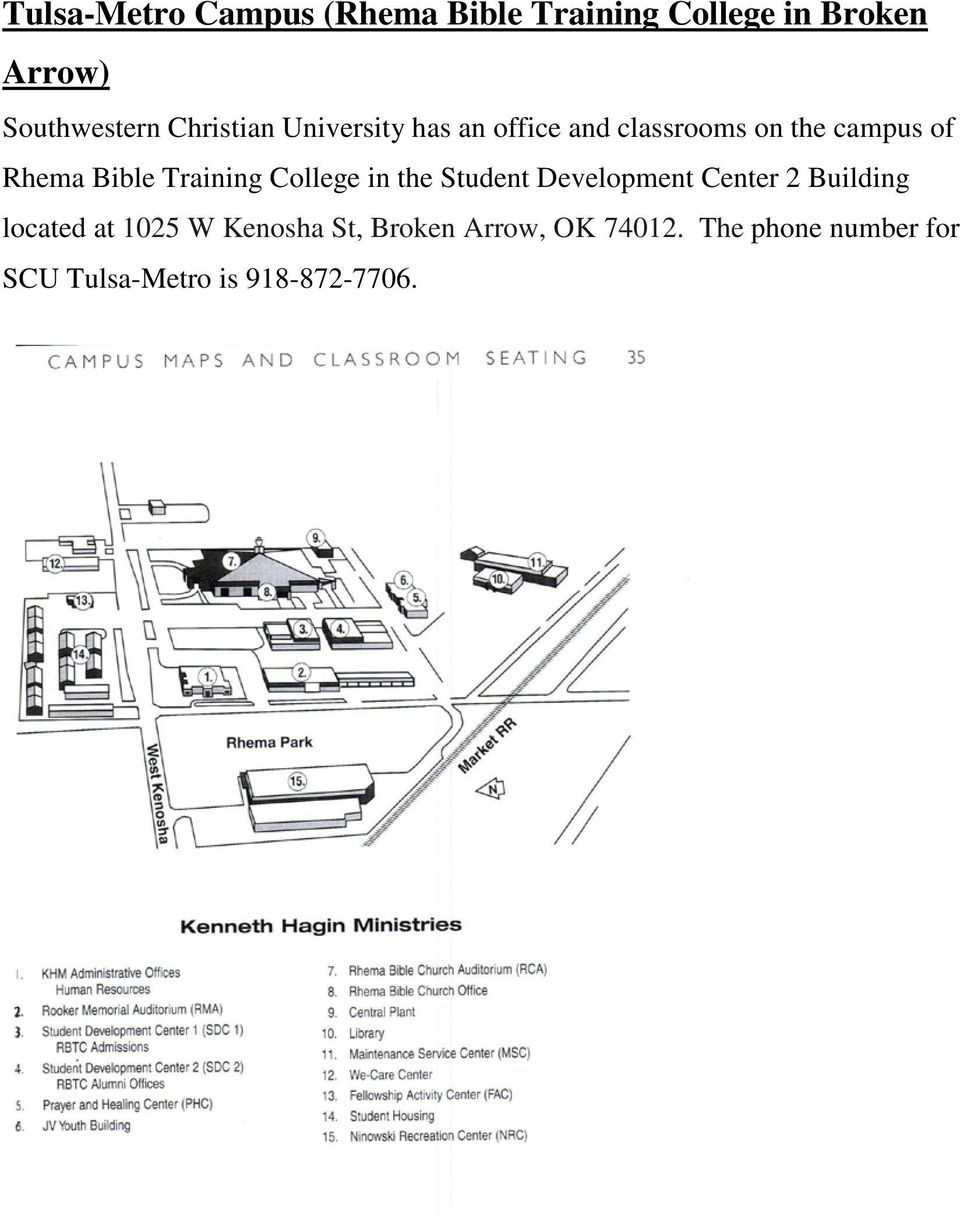 Training College in the Student Development Center 2 Building located at 1025 W