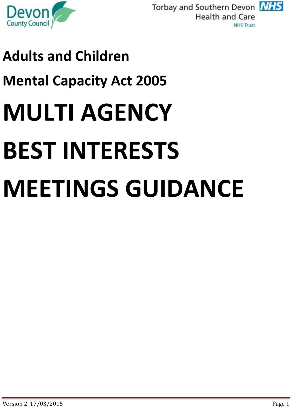 AGENCY BEST INTERESTS