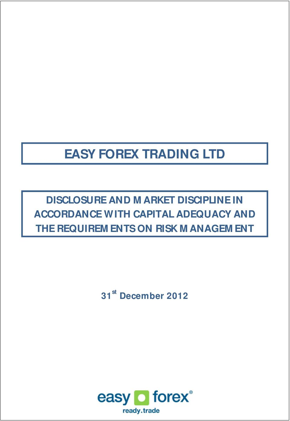 Easy forex option trading