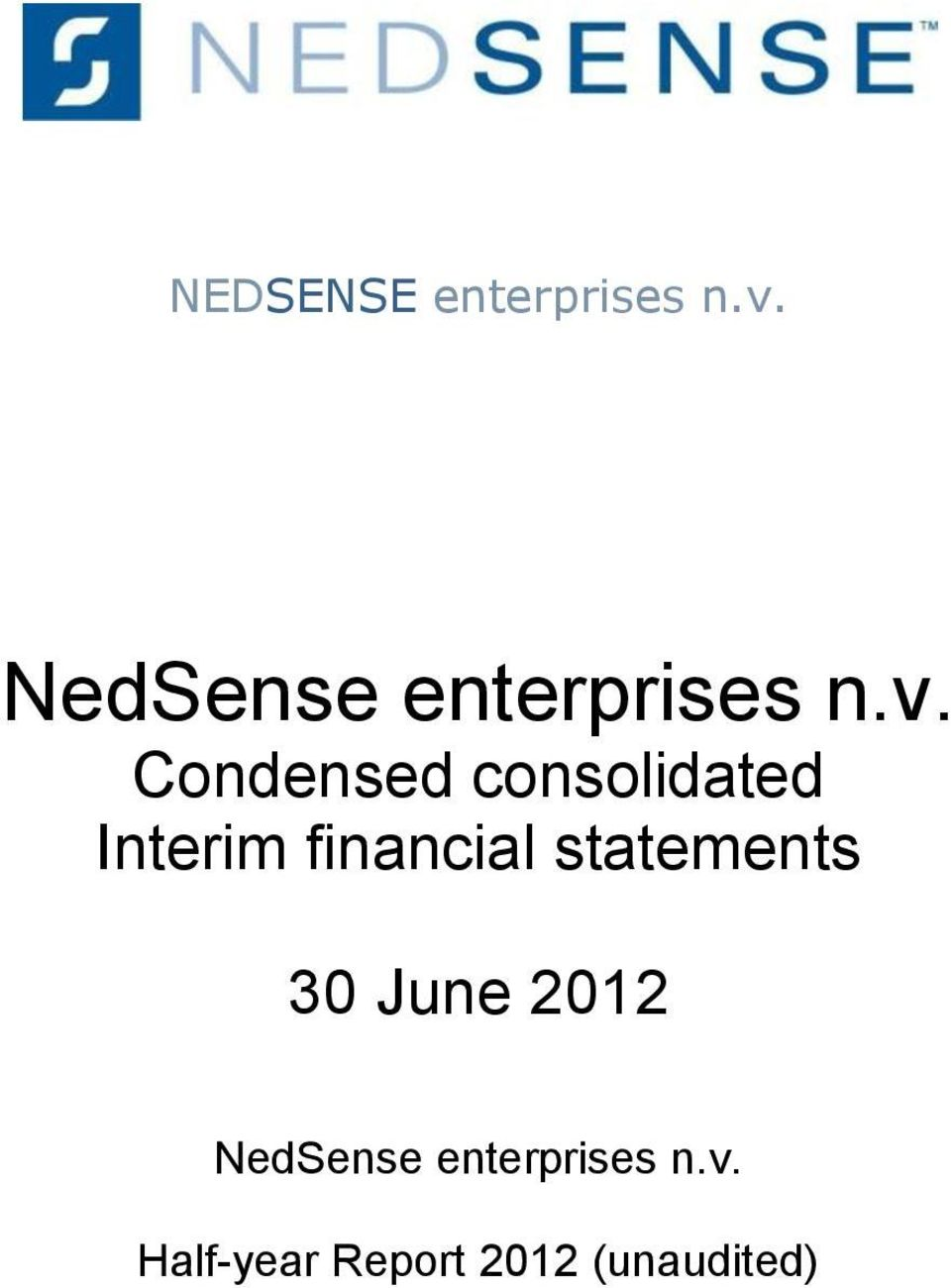 Condensed consolidated Interim financial