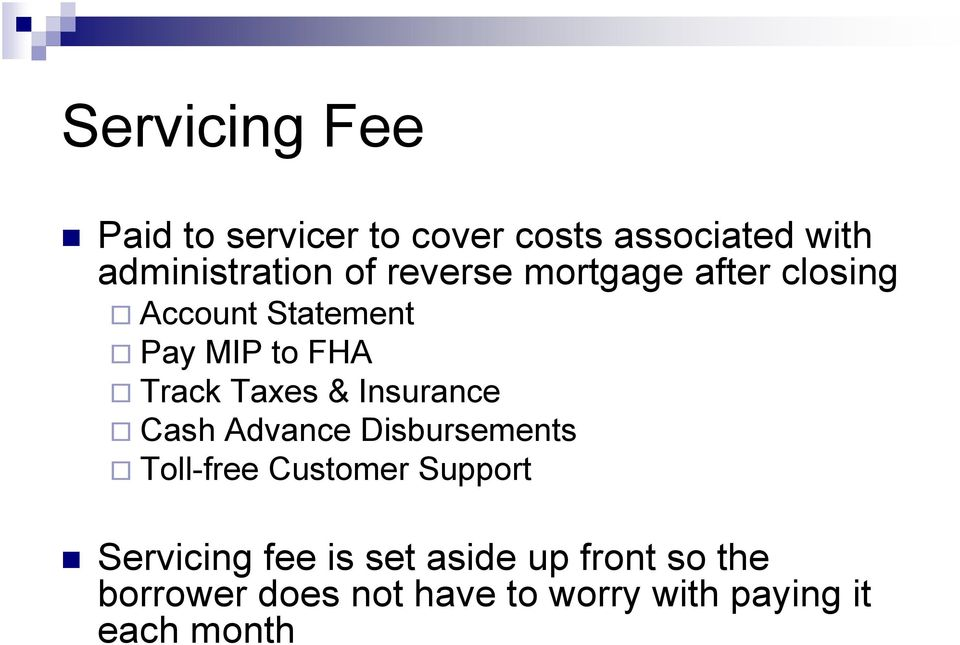 Insurance Cash Advance Disbursements Toll-free Customer Support Servicing fee is