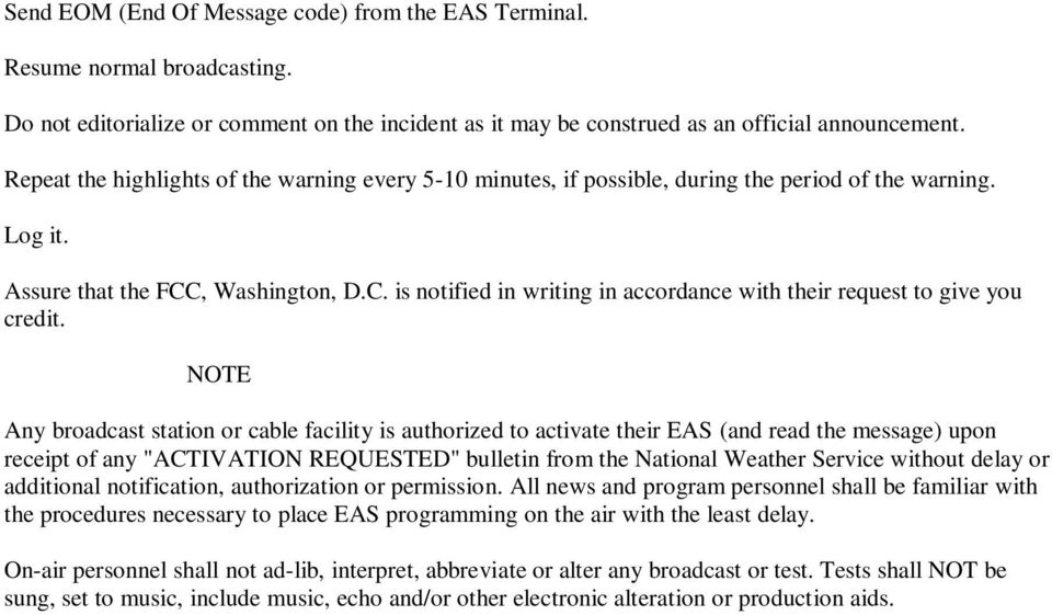, Washington, D.C. is notified in writing in accordance with their request to give you credit.