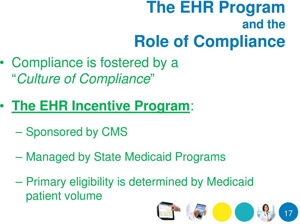 the Role of Compliance Managed by State Medicaid Programs