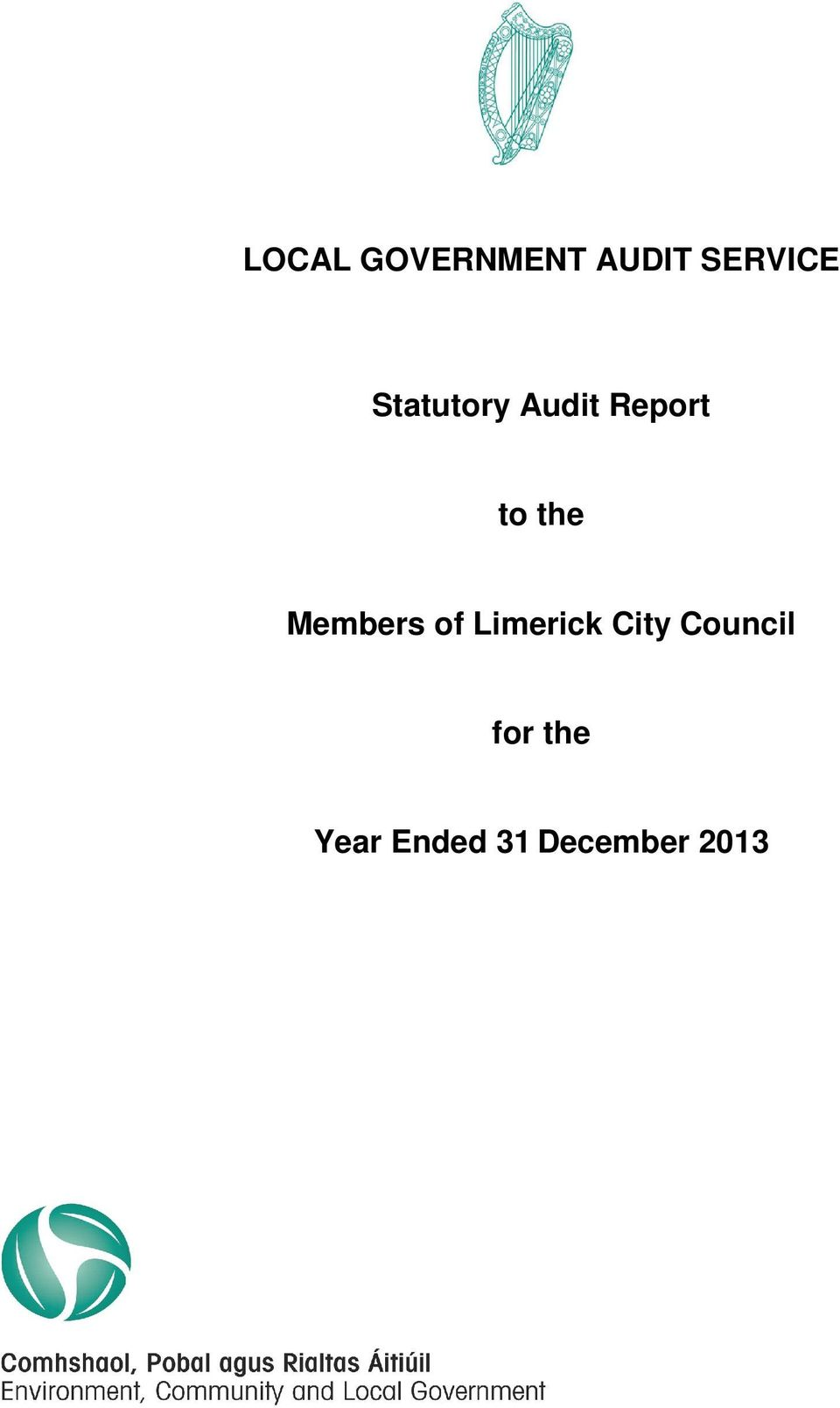 Members of Limerick City Council