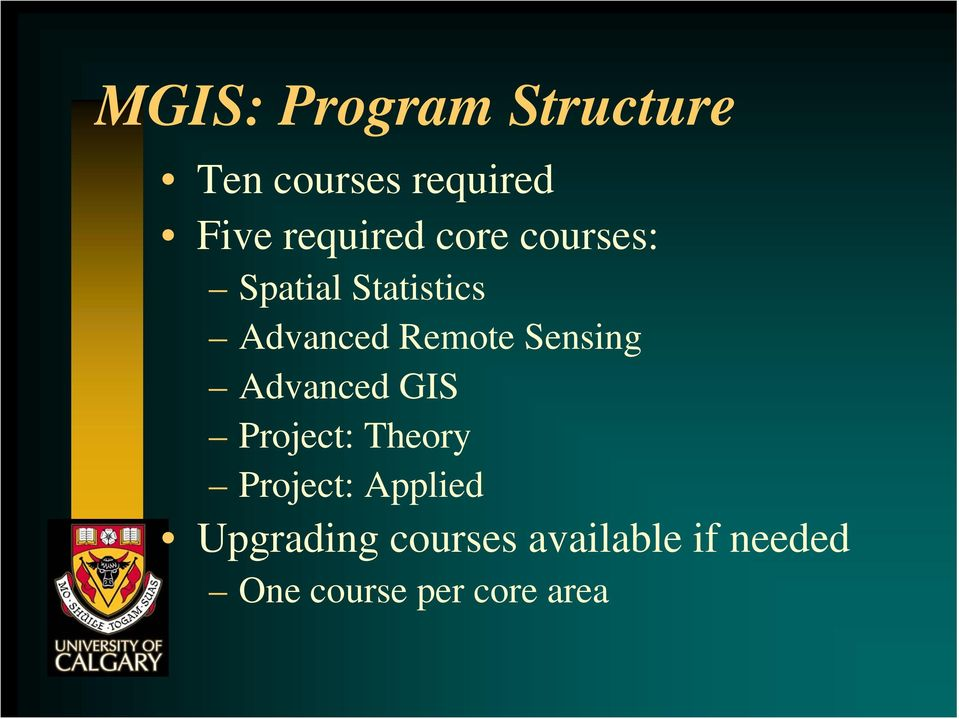 Remote Sensing Advanced GIS Project: Theory Project: