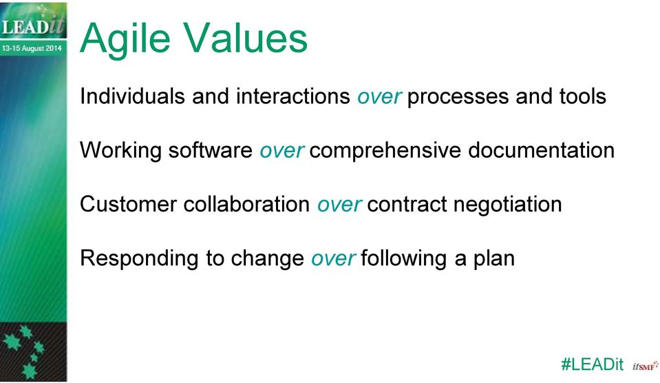 comprehensive documentation Customer collaboration