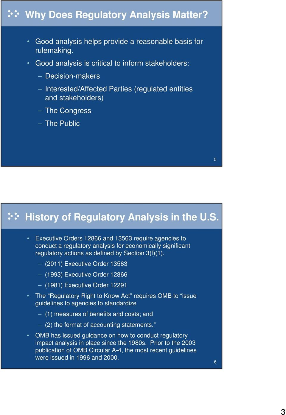 Executive Orders 12866 and 13563 require agencies to conduct a regulatory analysis for economically significant regulatory actions as defined by Section 3(f)(1).