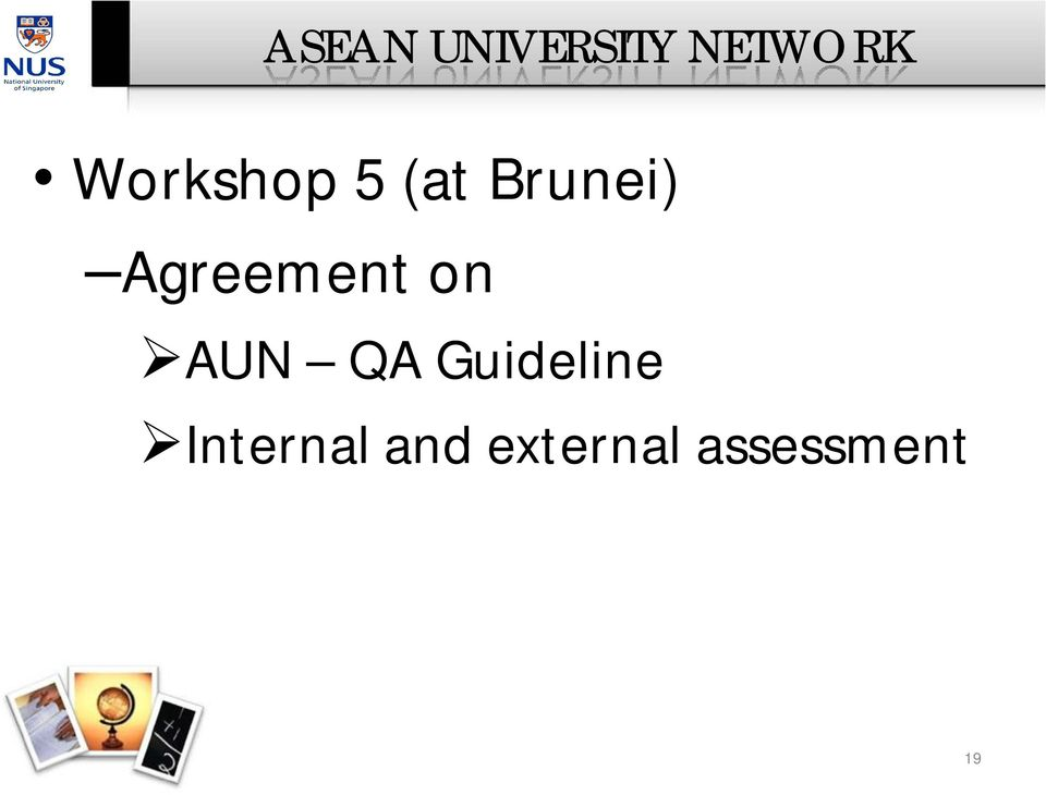 Agreement on AUN QA