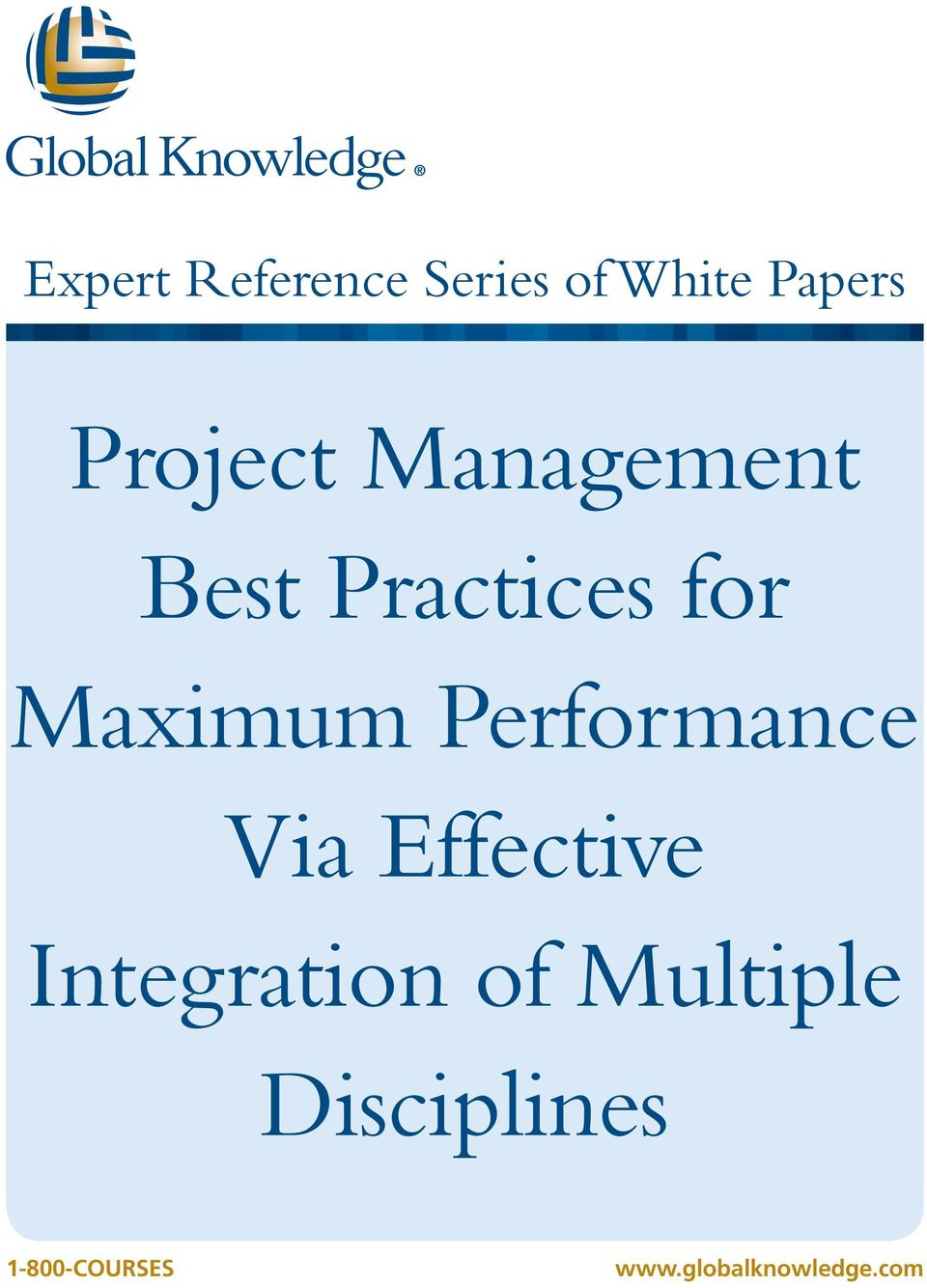 Performance Via Effective Integration of