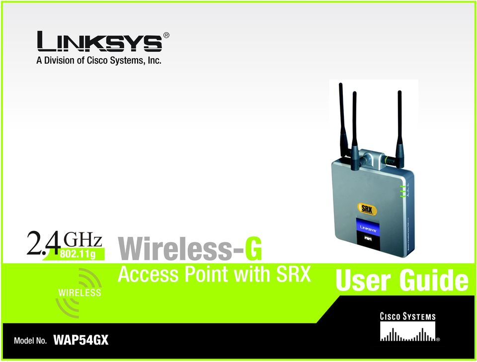 11g WIRELESS Wireless-G