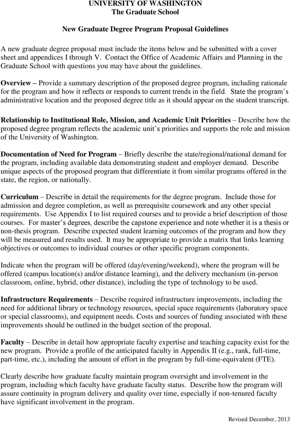 Overview Provide a summary description of the proposed degree program, including rationale for the program and how it reflects or responds to current trends in the field.