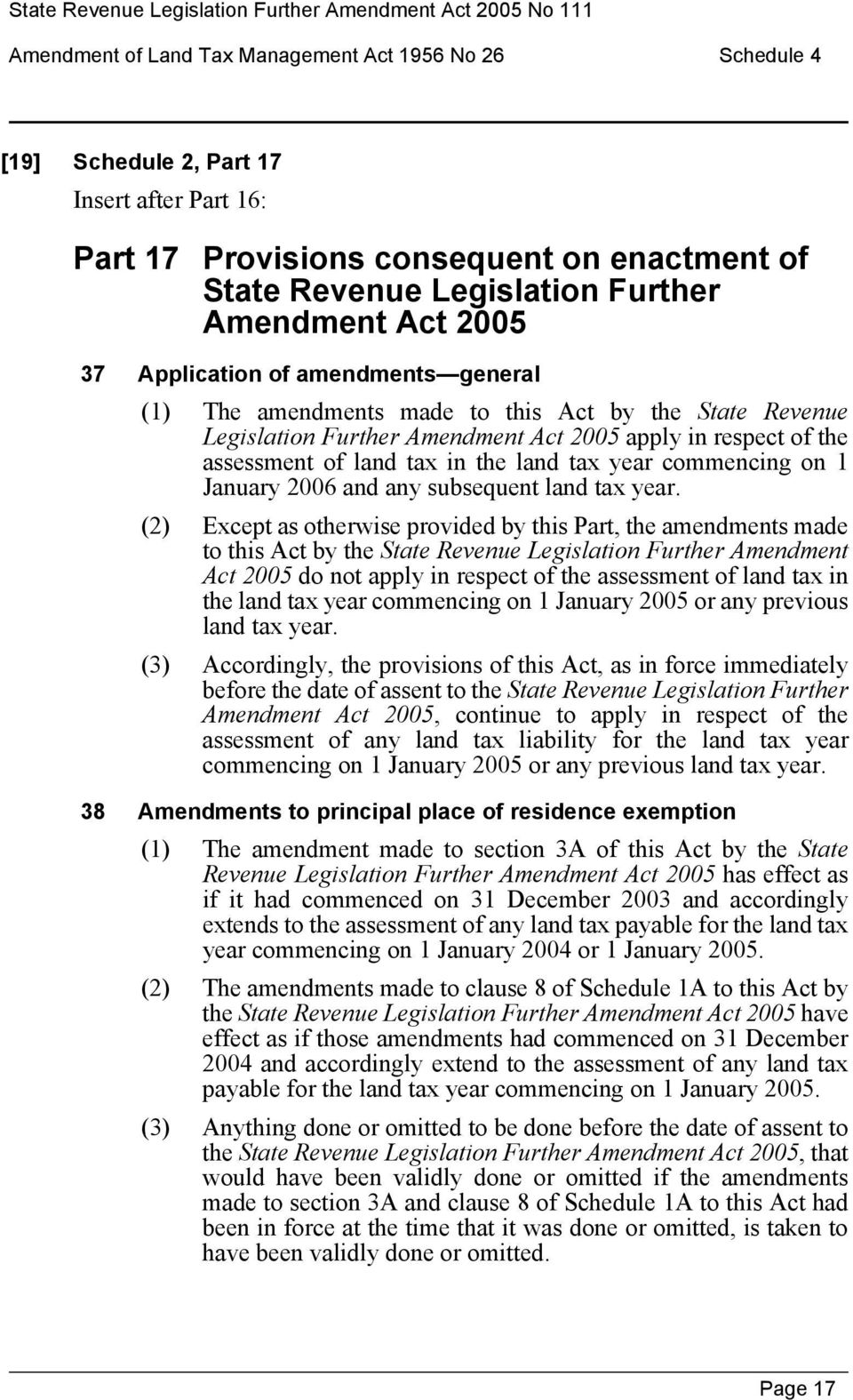 a taxing amendment the revenue act essay Inland revenue (amendment) act no 18 of 2013 1 tax exemptions 11 institutions exemption from income tax is granted in respect of the profits and income, other than dividends and interest, of –.