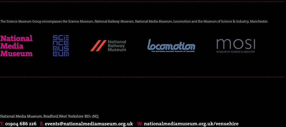 National Media Museum, Locomotion and the