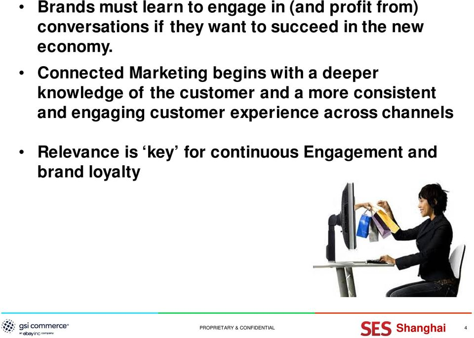 Connected Marketing begins with a deeper knowledge of the customer and a