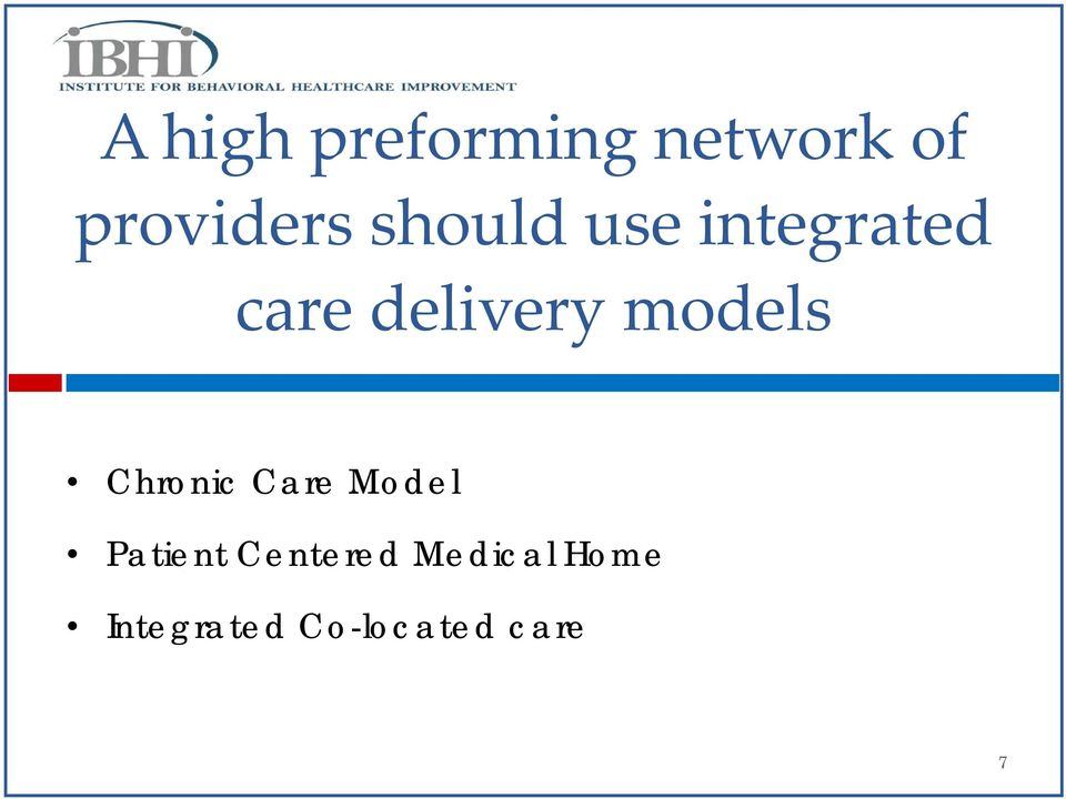 models Chronic Care Model Patient