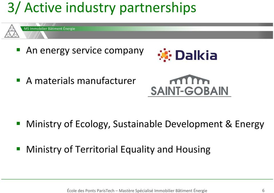 Development& Energy Ministry of Territorial Equality and