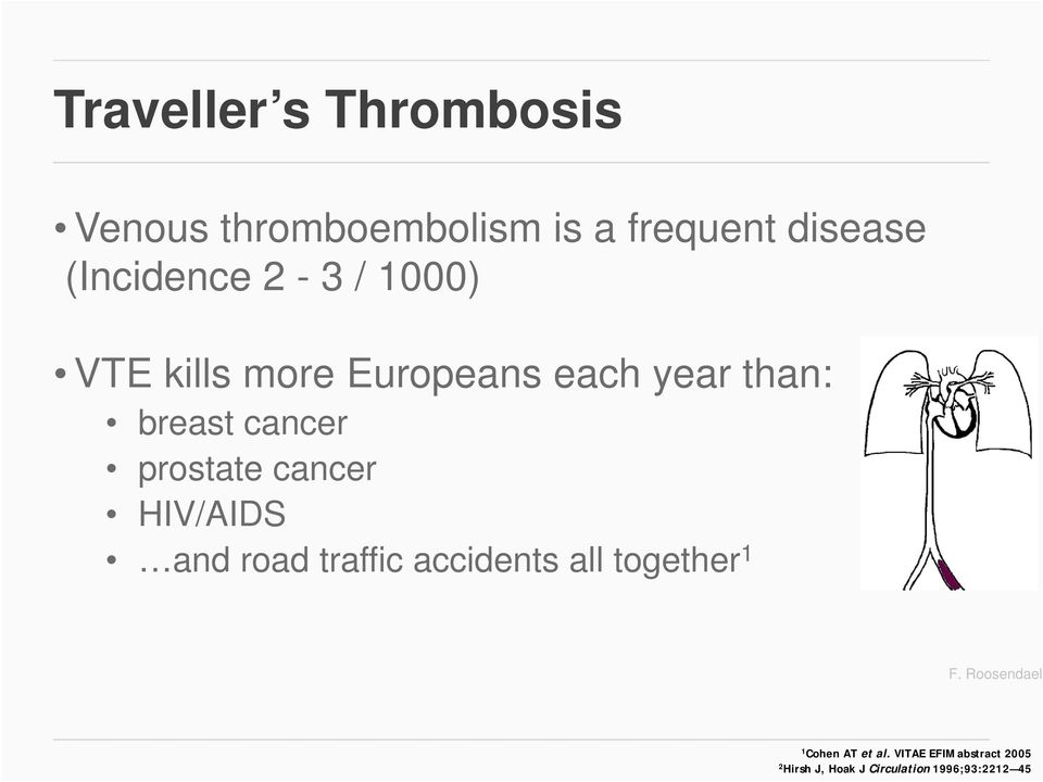 cancer HIV/AIDS and road traffic accidents all together 1 F.