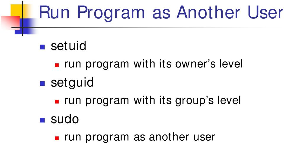 setguid run program with its group s