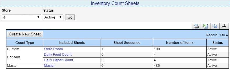 inventory count sheets the inventory count sheets setting has been