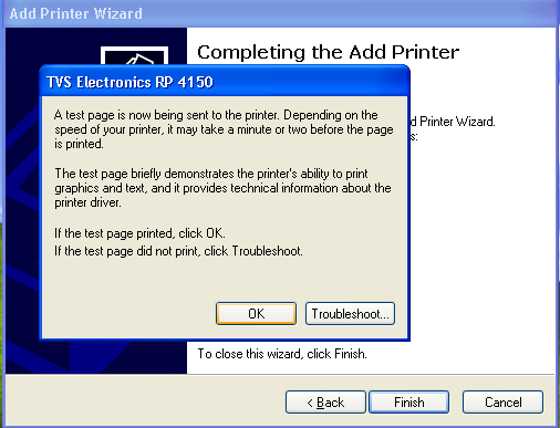Press CONTINUE ANYWAY TVS Electronics Windows Driver Guide Click Finish to complete the