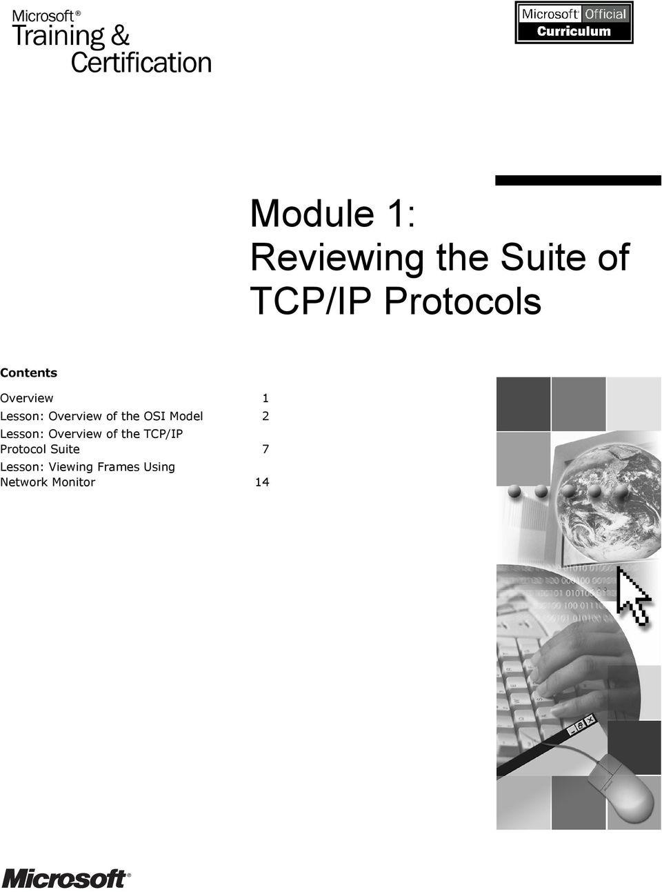 Model 2 Lesson: Overview of the TCP/IP Protocol
