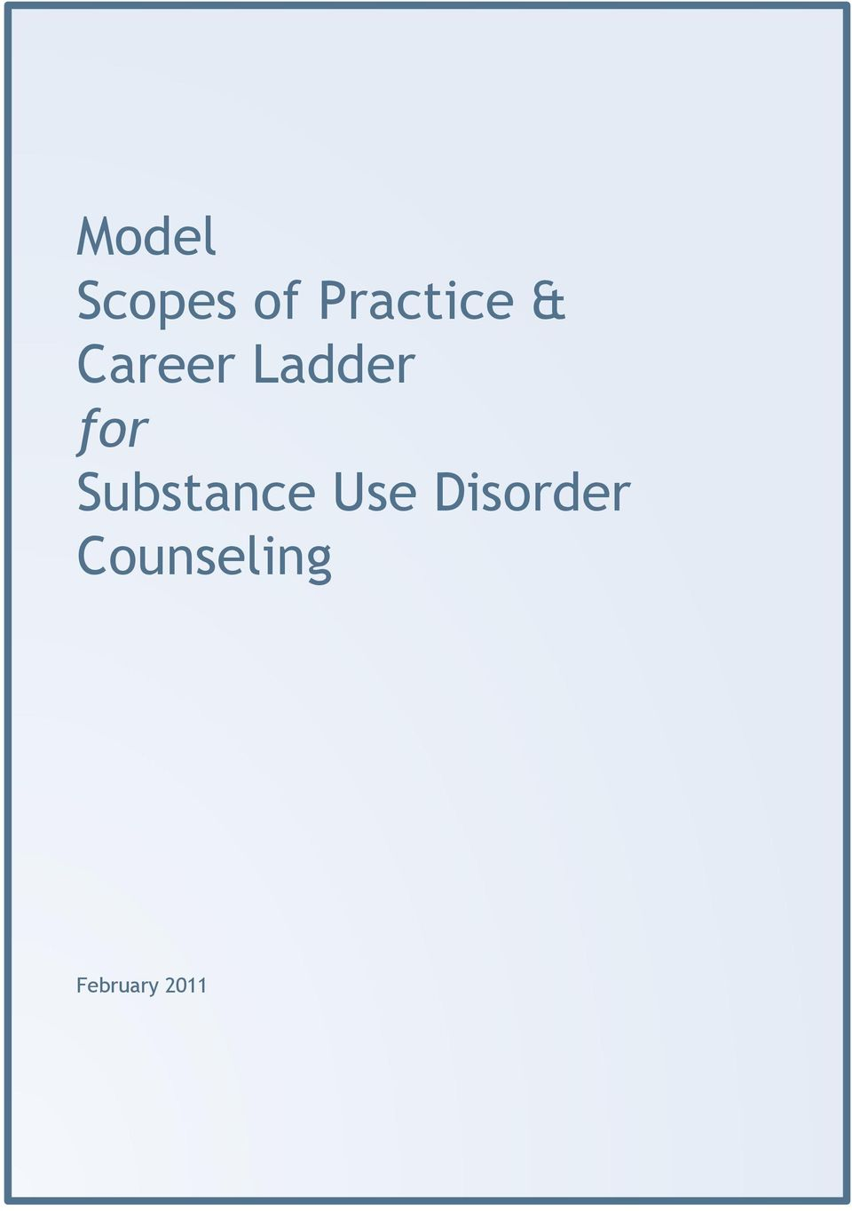 Ladder for Substance