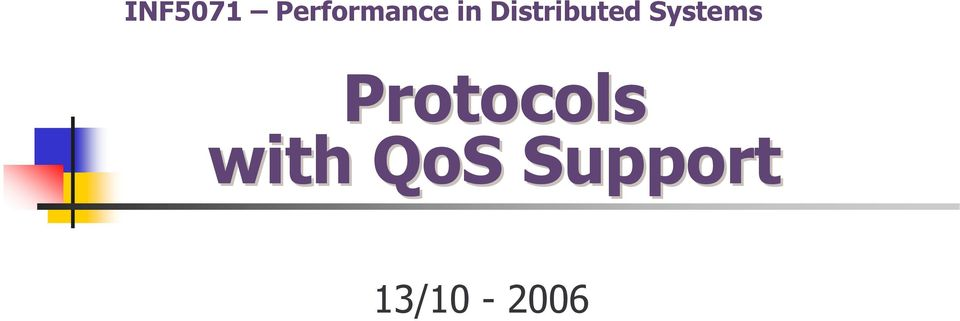 Systems Protocols