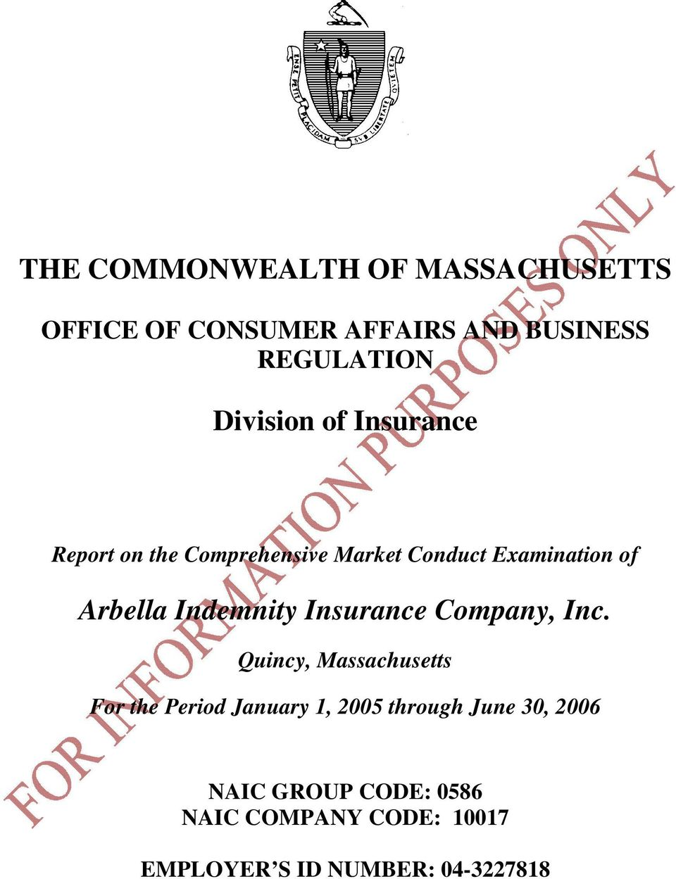 Indemnity Insurance Company, Inc.