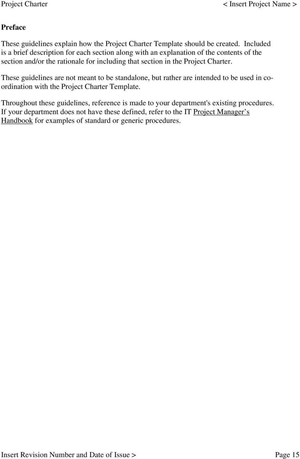 Project Charter Guide Pdf