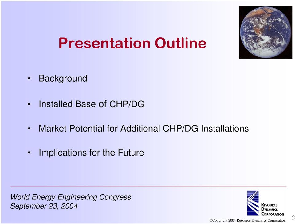 Potential for Additional CHP/DG