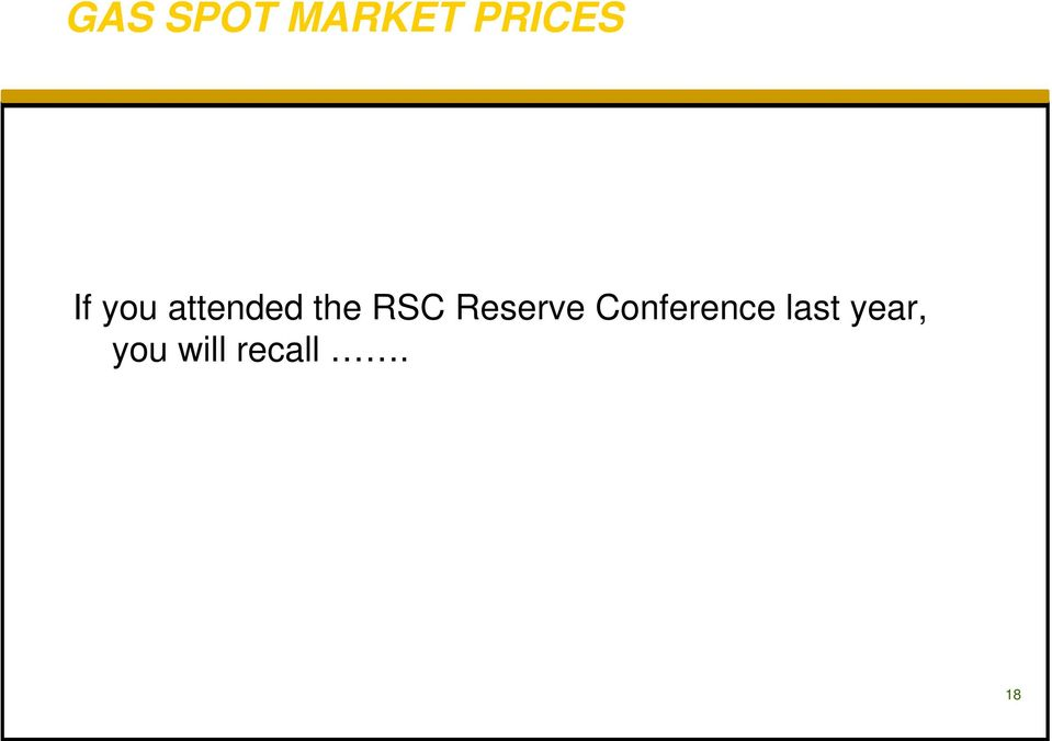 Reserve Conference last