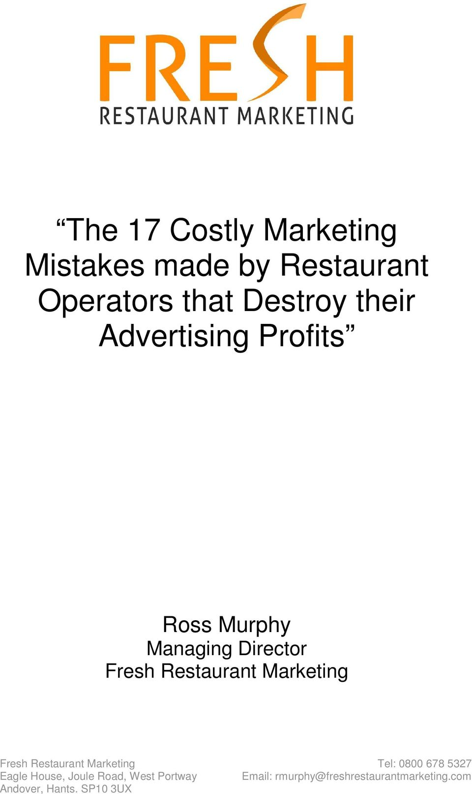 their Advertising Profits Ross Murphy