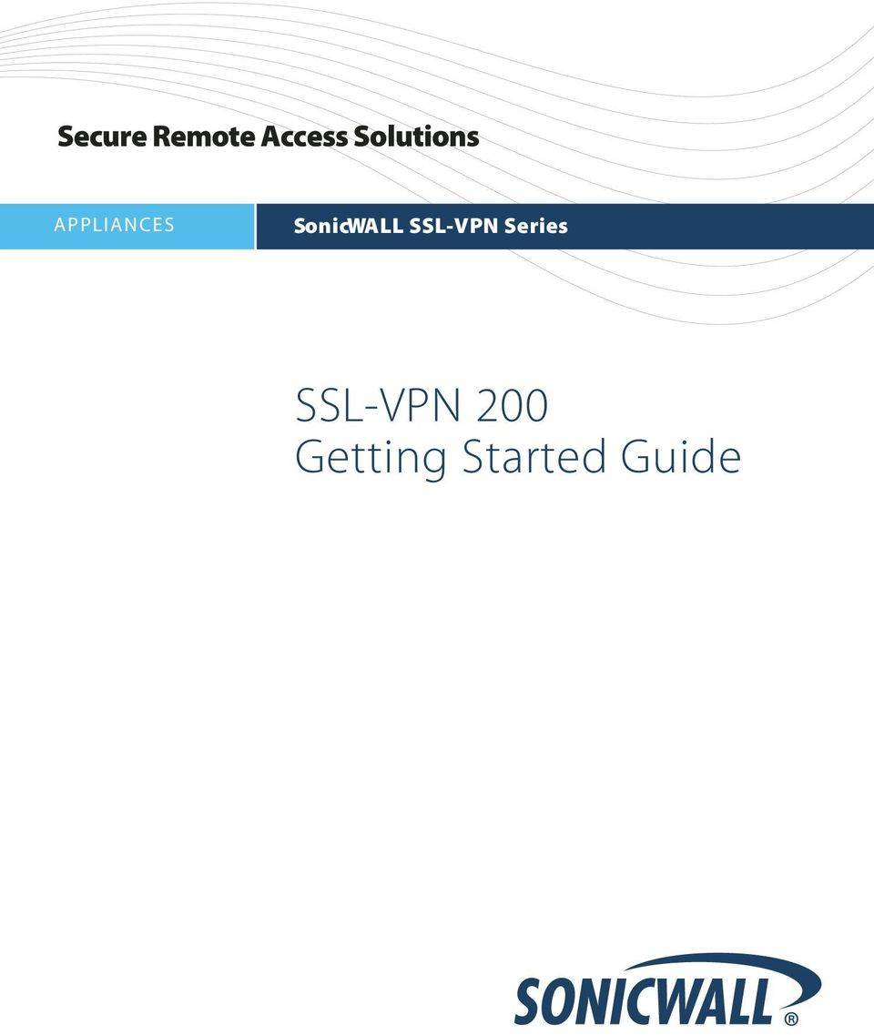 SonicWALL SSL-VPN Series