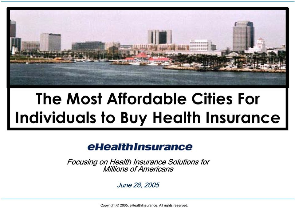 Insurance Solutions for Millions of Americans