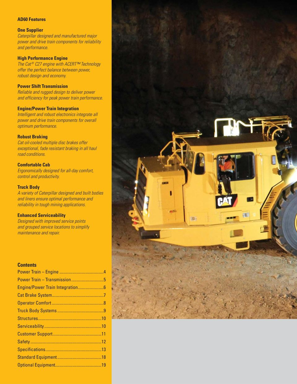 AD60  Underground Articulated Truck Preliminary - PDF