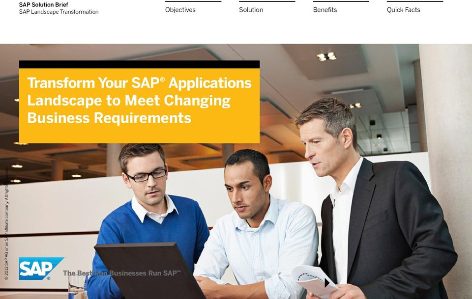 Transform Your SAP Applications
