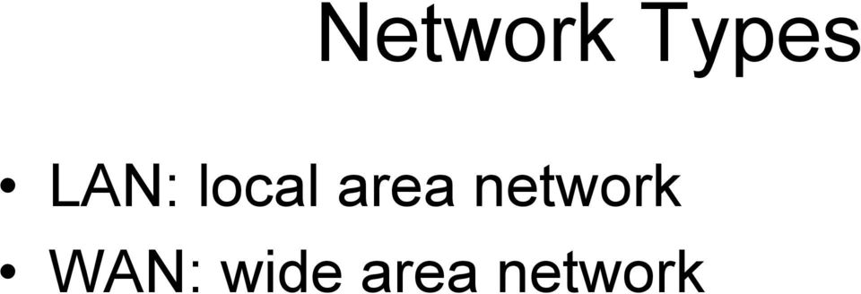 area network