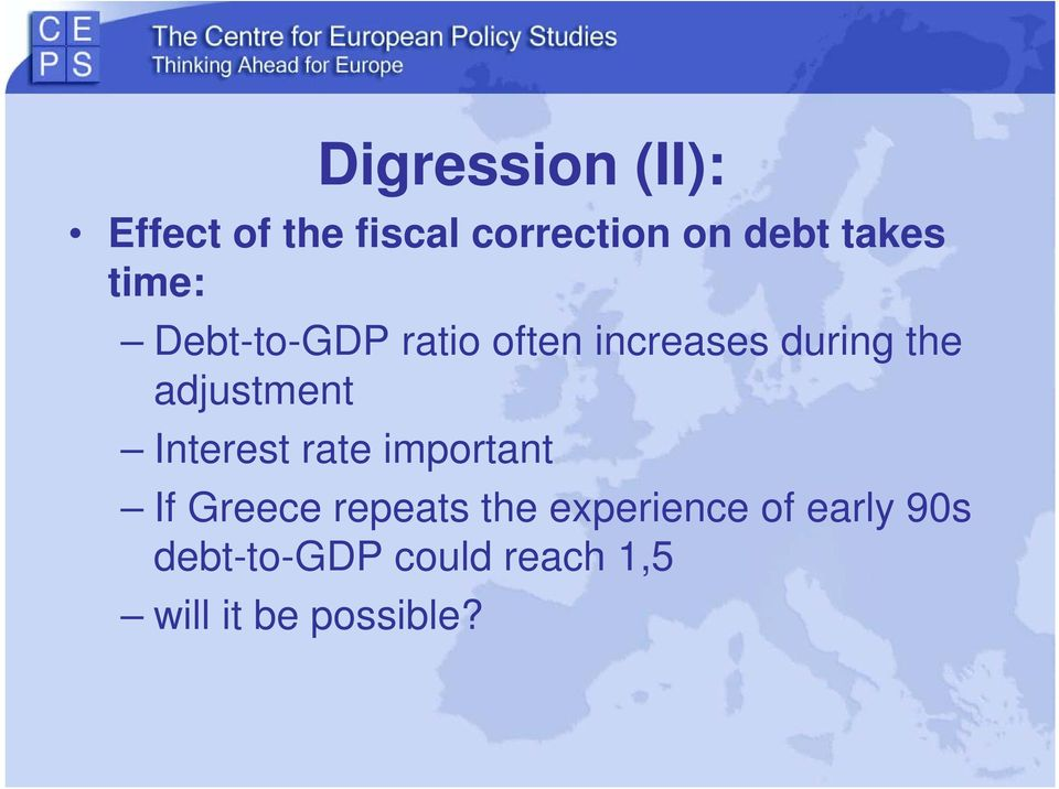adjustment Interest rate important If Greece repeats the