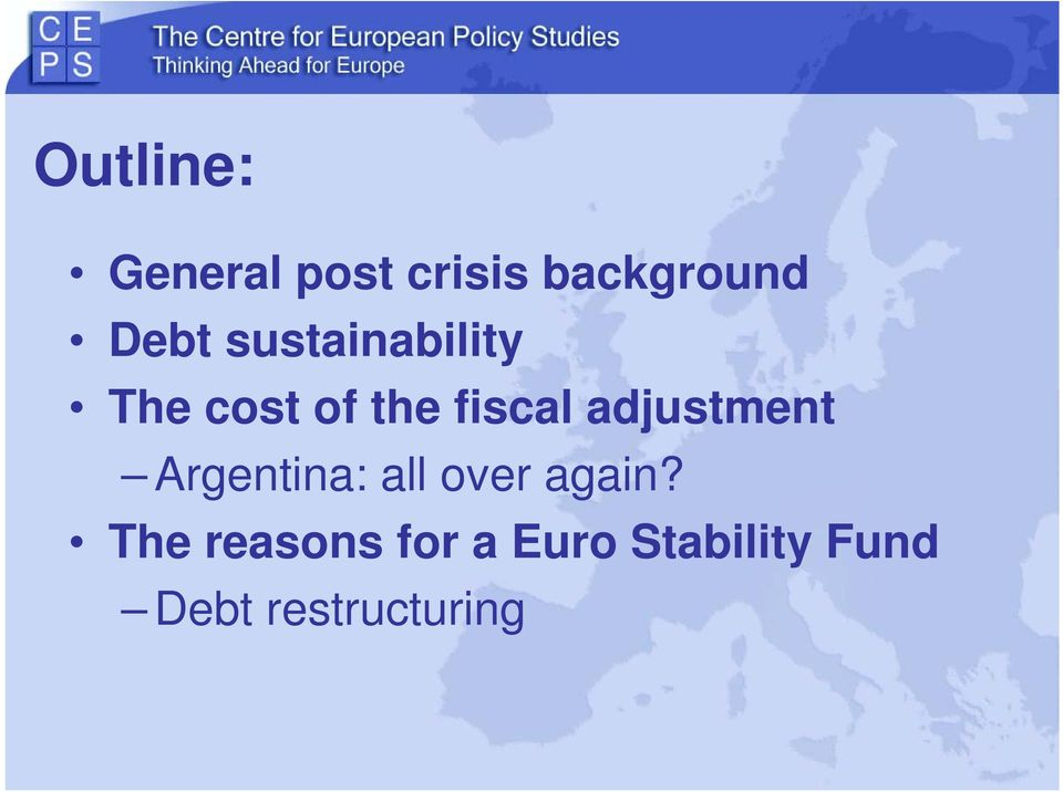 adjustment Argentina: all over again?