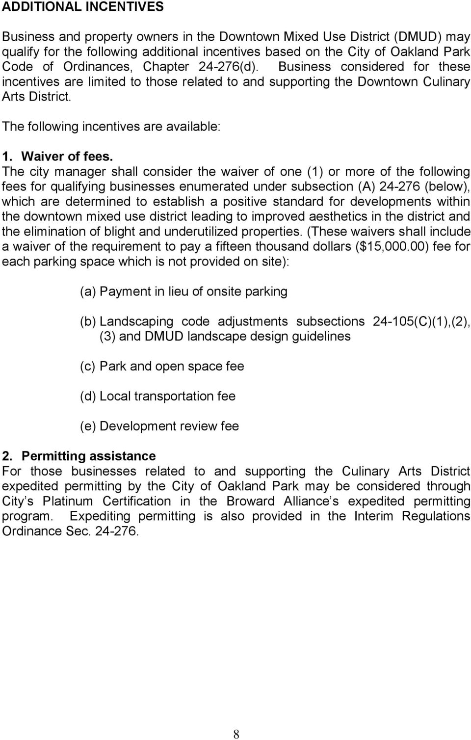 Waiver of fees.